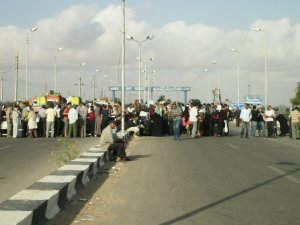 At the Rafah Gate. June 2009.